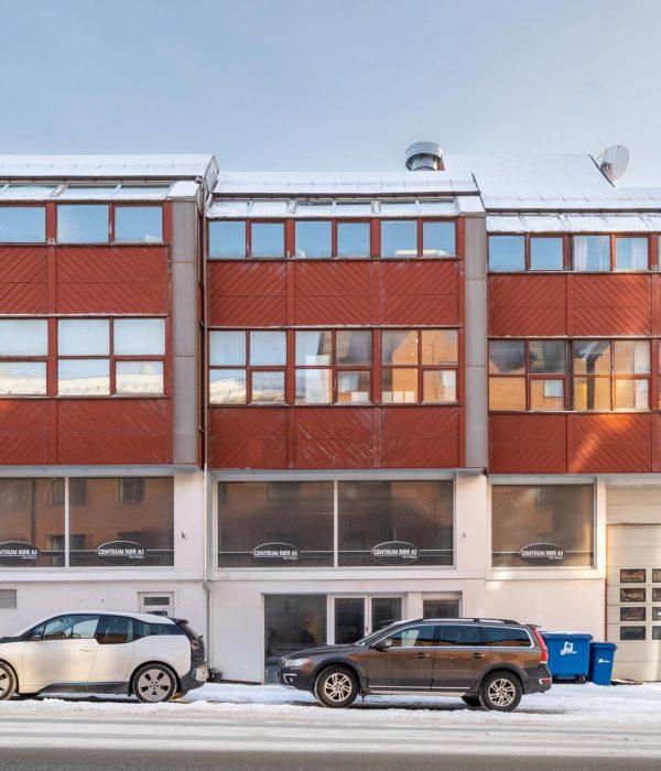 Sjøgata 18 Fasade